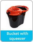bucket with squeezer