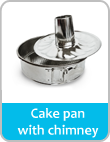 cake pan with chimney