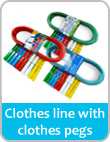 clothes linesm clothes pegs