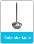 colander ladle
