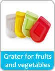 grate fruits and vegatables