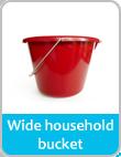 h wide h bucket