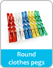 rounds clothes pegs